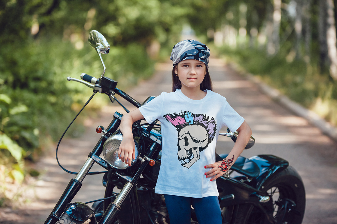 Little Bikers T-Shirt Mock-Up example image 14