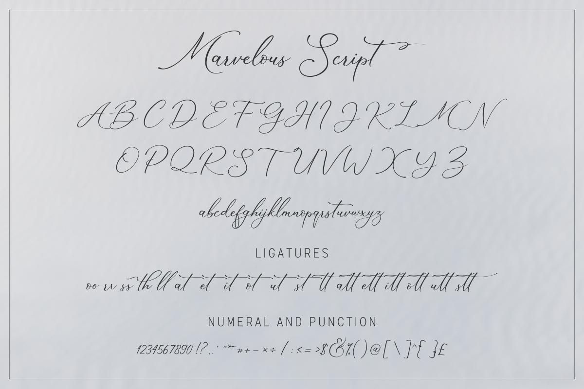 The Marvelous Font Duo example image 12