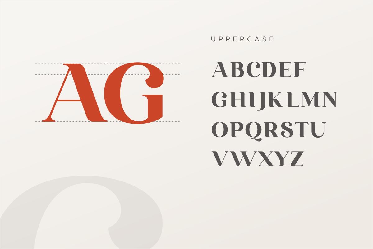 Emirates - Beautiful Curved Font example image 13
