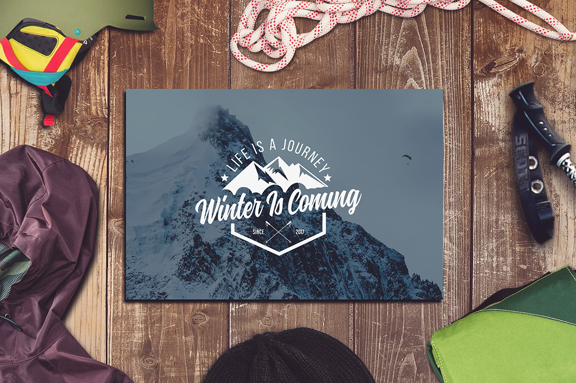 Winter Sports Mock-up Big Pack #1 example image 5