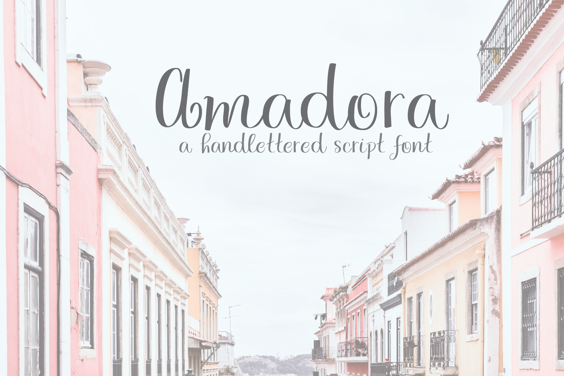 Amadora Script example image 1