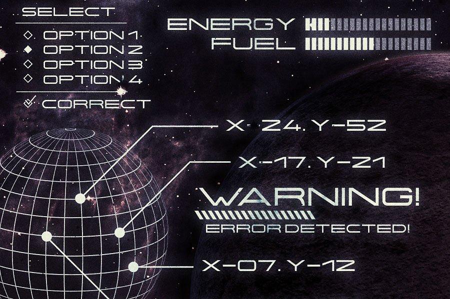 Centauri Typeface example image 3