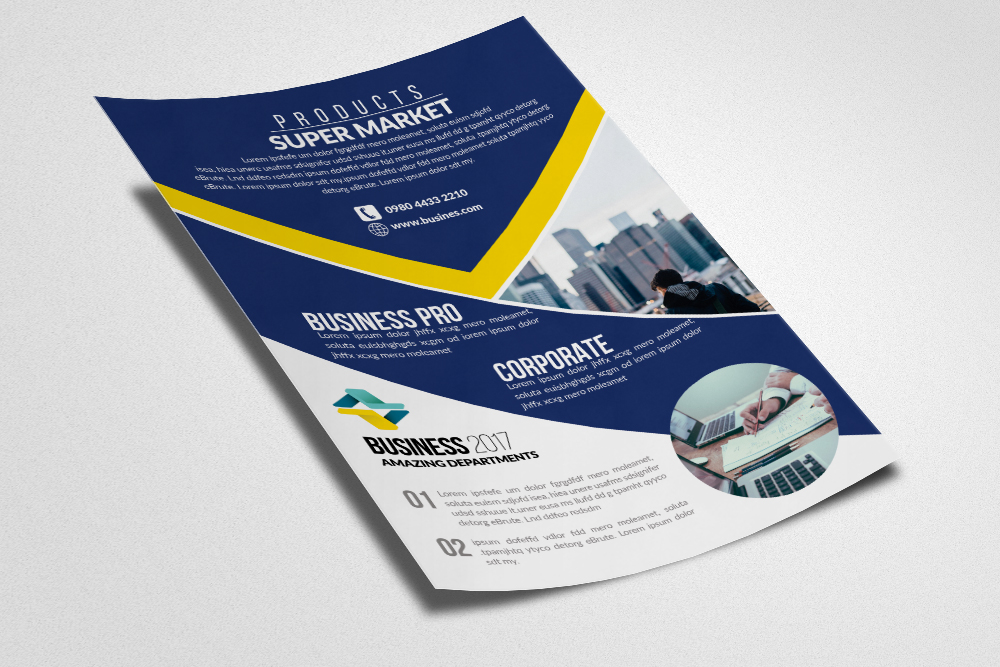Business Firm Flyers Templates example image 3