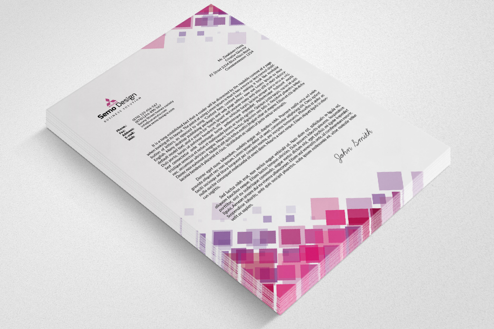 New Business Letterheads example image 2