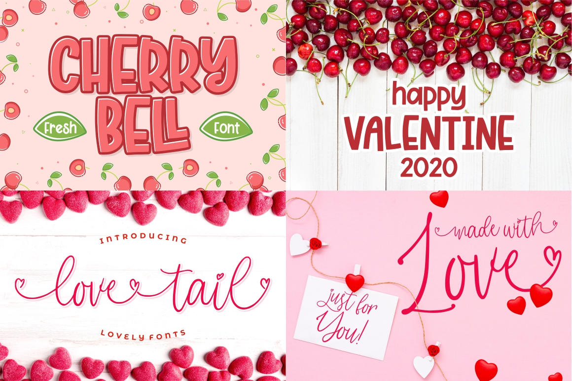 The Mega Valentine's Font Collections example image 5