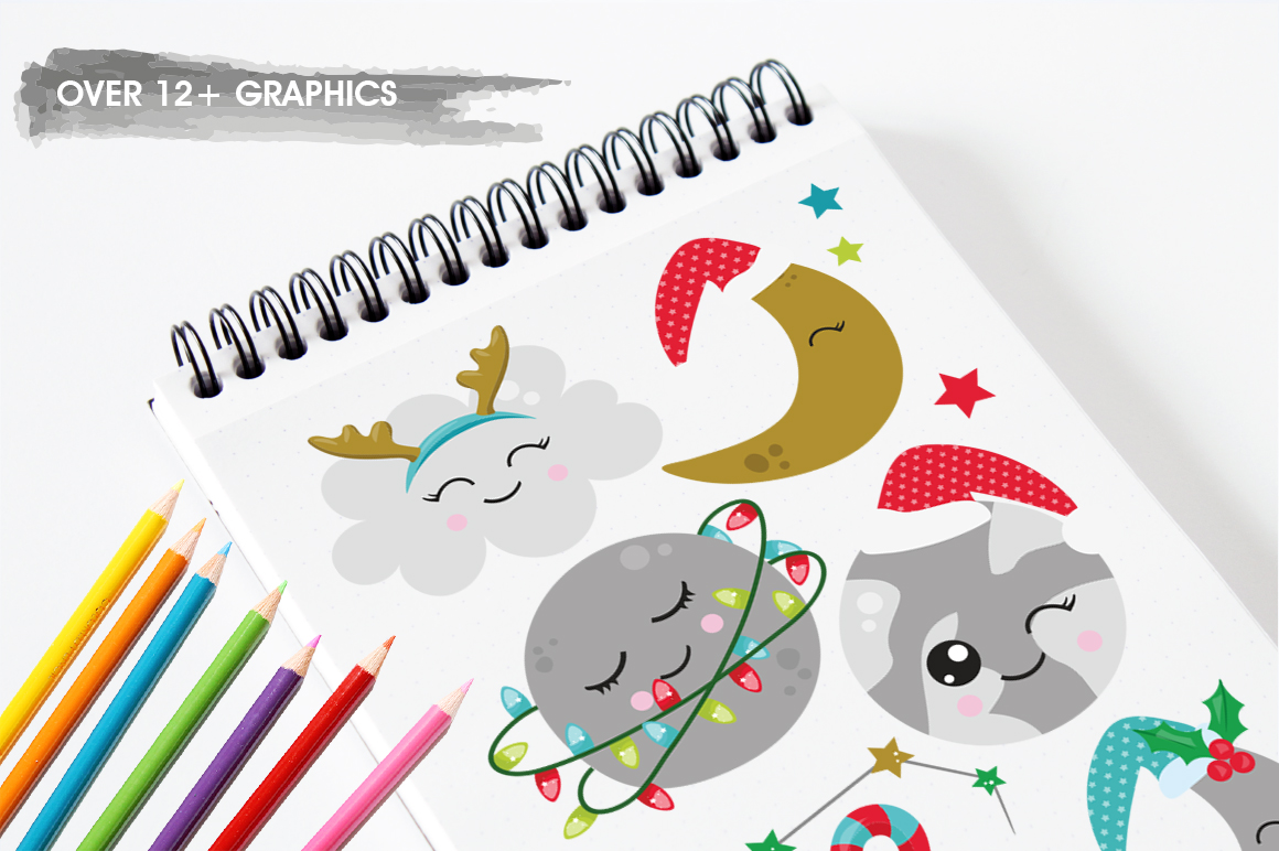 Christmas Dreams graphics and illustrations example image 3