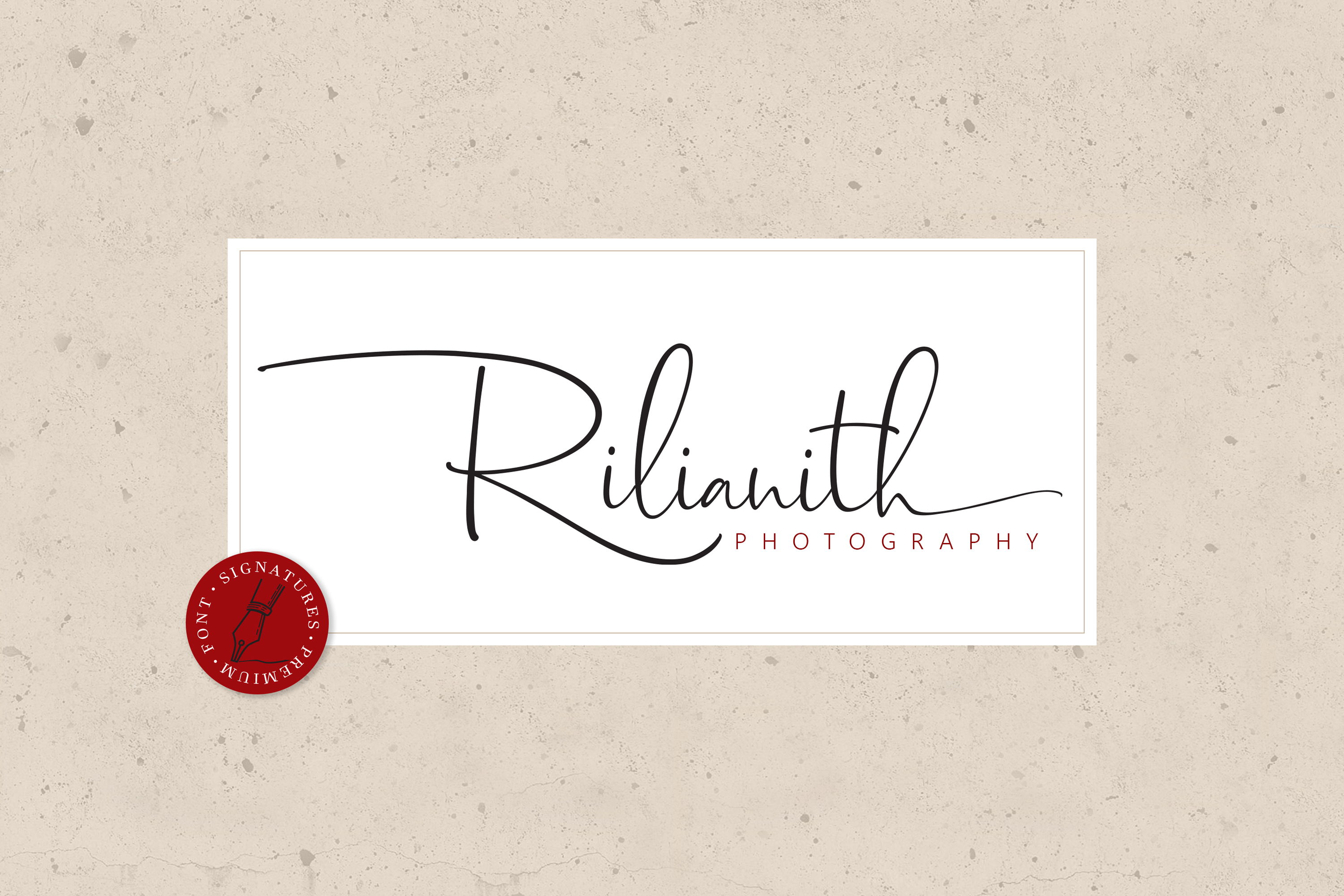Dhanikans Signature Font Duo example image 4
