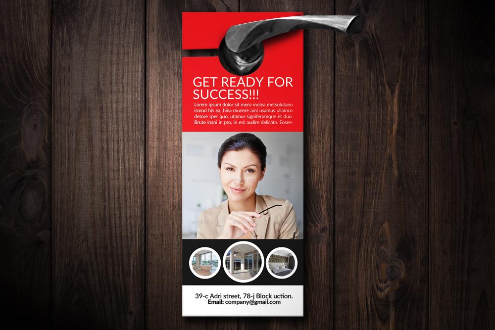 Business Solutions Door Hangers example image 1