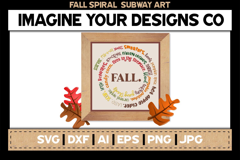 Spiral Subway Printable SVG Clipart Bundle example image 2