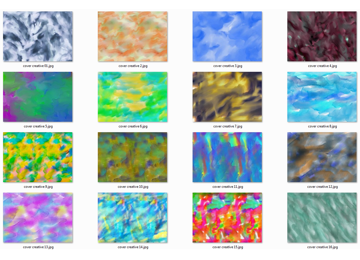 50 Watercolor Backgrounds Bundle example image 2