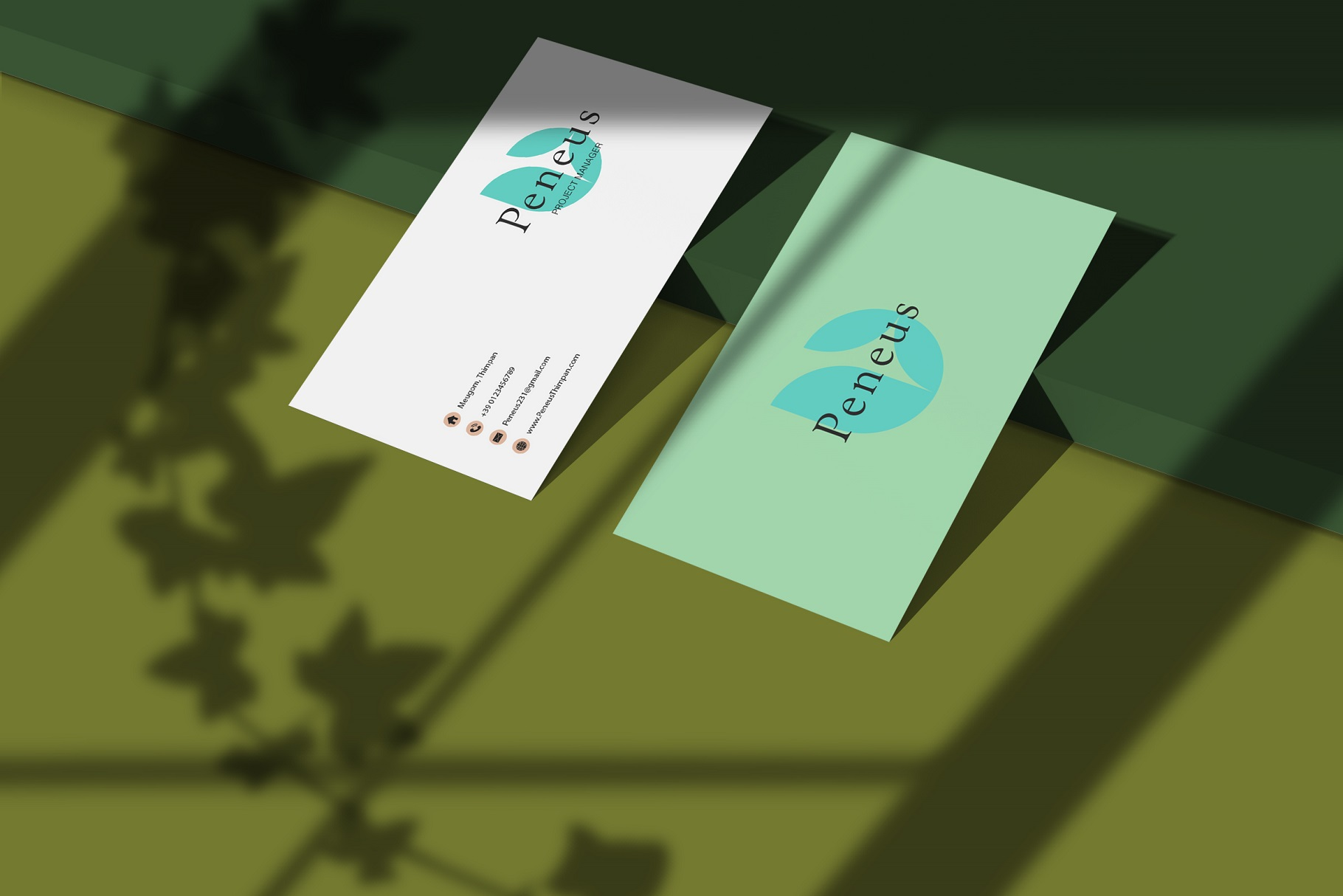 Businesscard Mockups example image 6