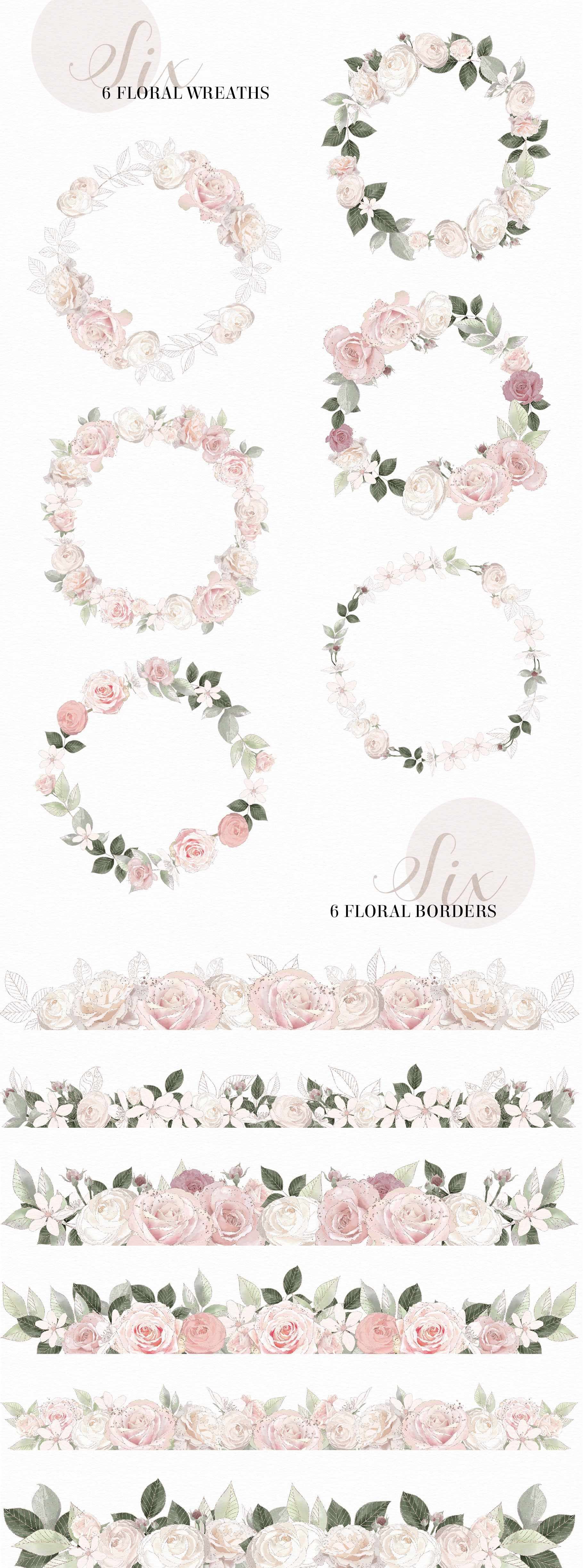 The Grand Ballerina Clipart Collection example image 11