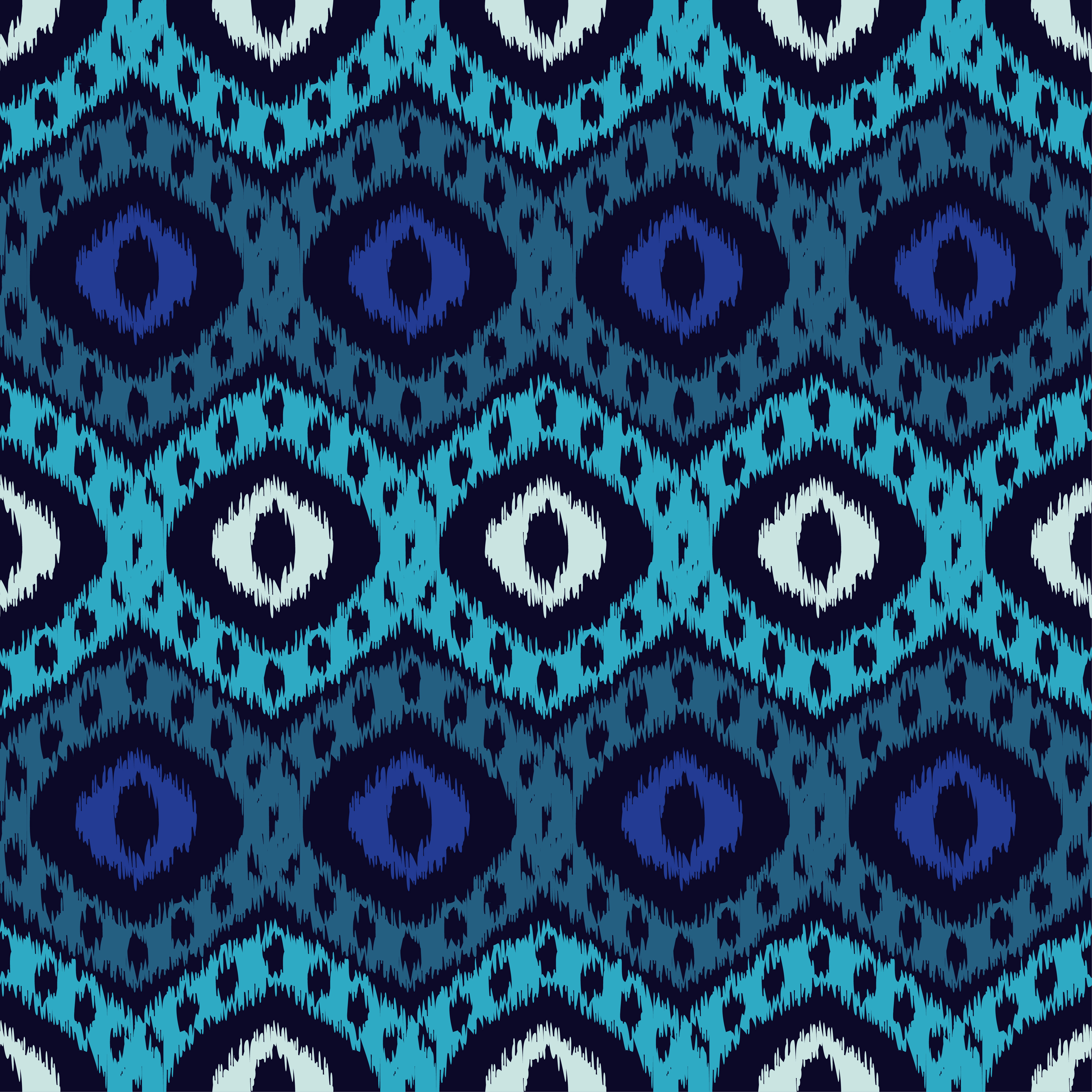 Set of 6 Ethnic boho seamless pattern.  example image 7