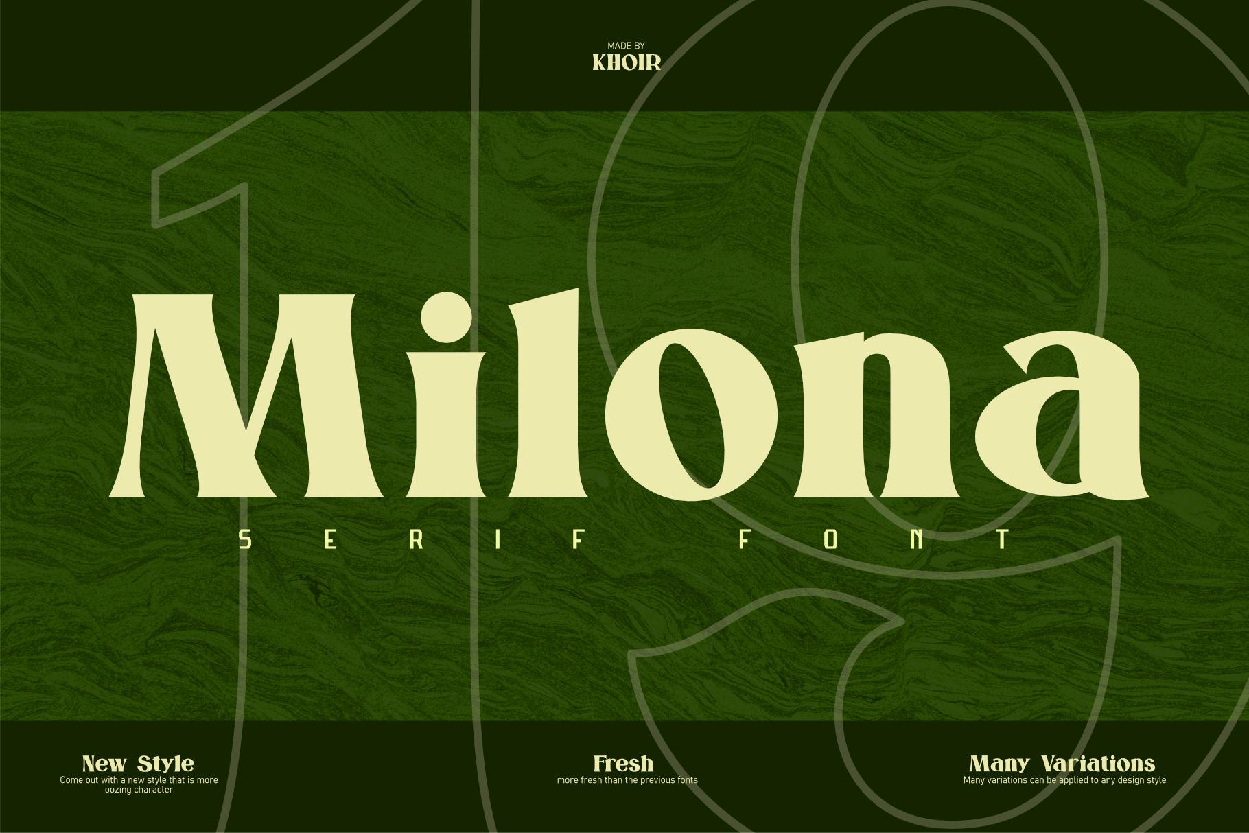 Milona example image 1