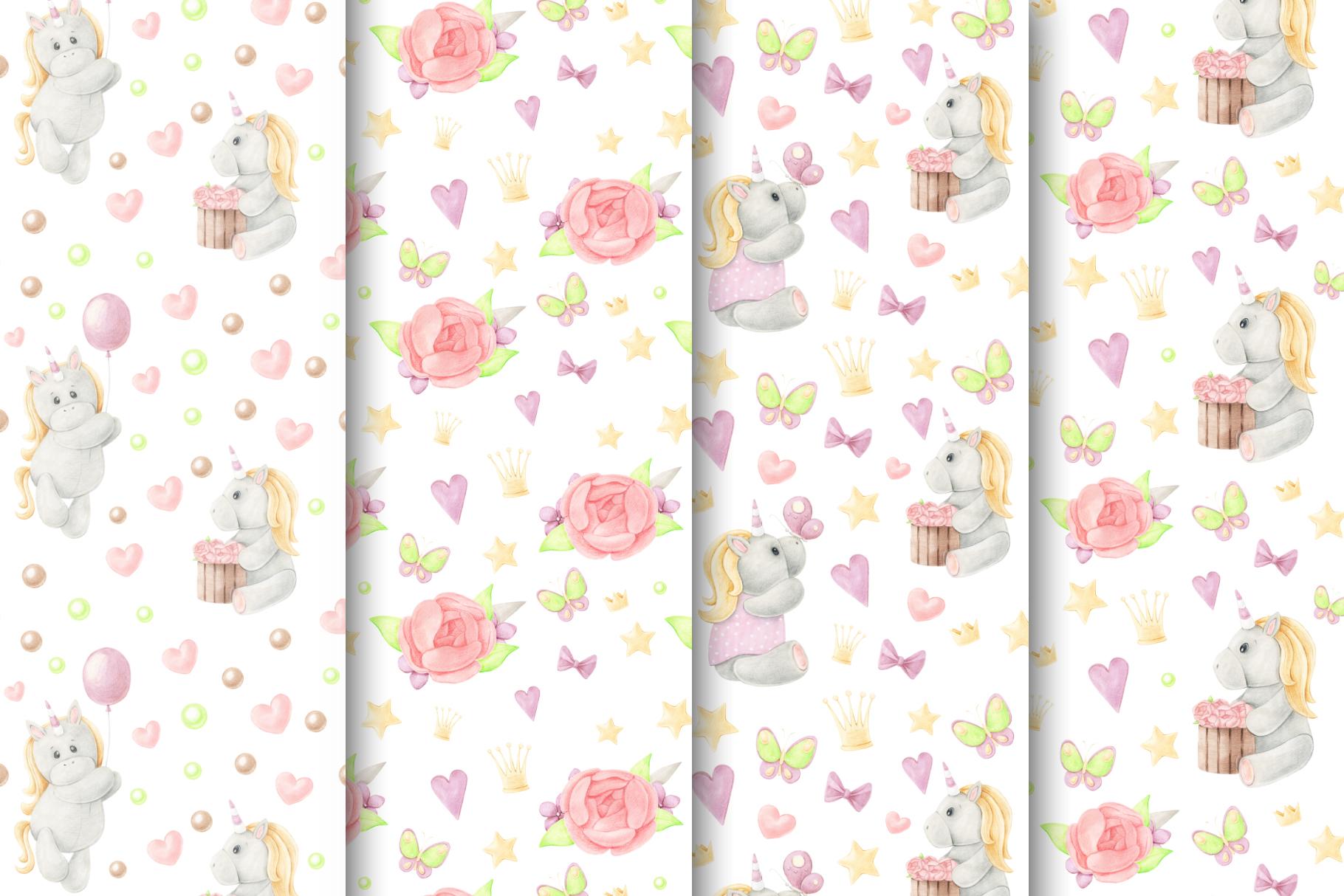 Tiny Unicorn Design Set example image 4