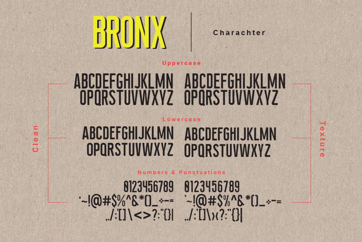 Newyork Bronx sans-script font duo example image 9