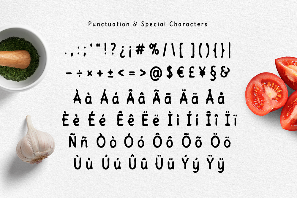 Tomatino - Handmade Font example image 3