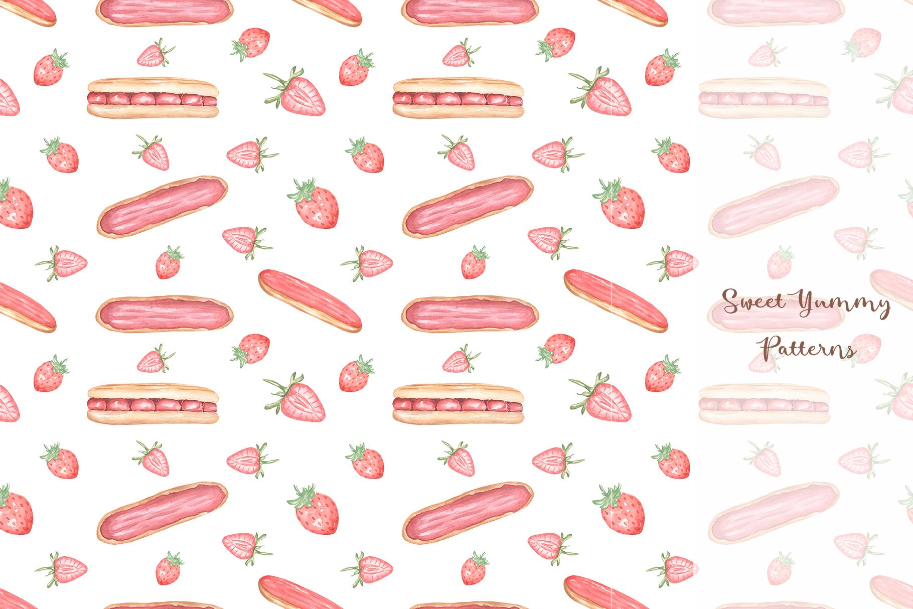 Sweet Yummy Patterns Collection example image 6