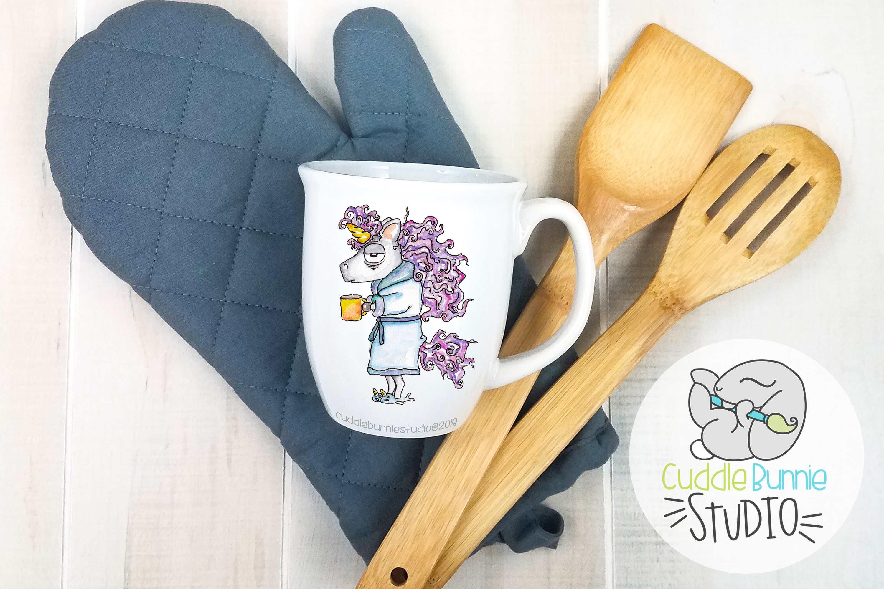 Mug Mockup | A Flat Lay Kitchen Theme example image 2