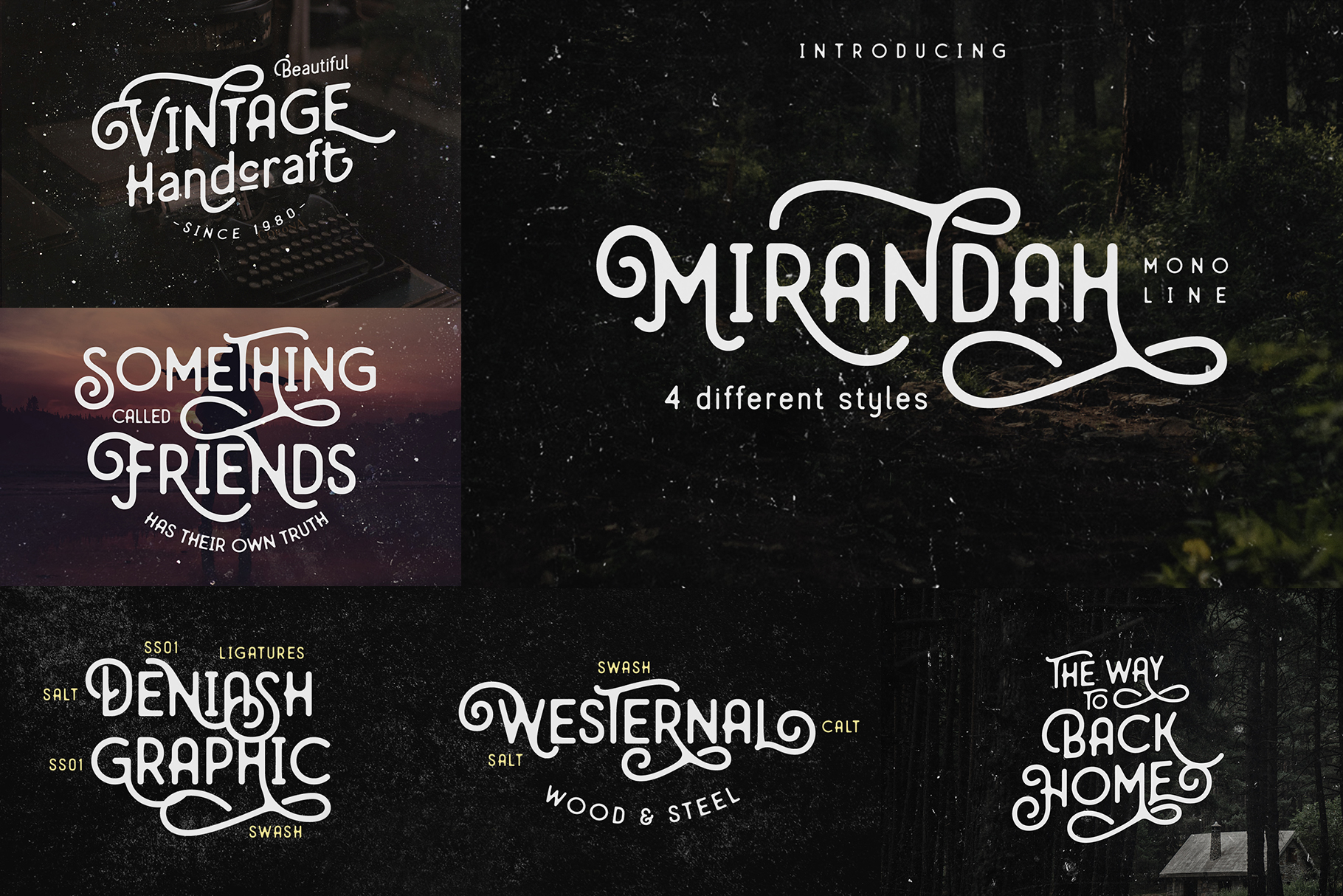 Font Bundle 2019| Year End Sale! example image 2