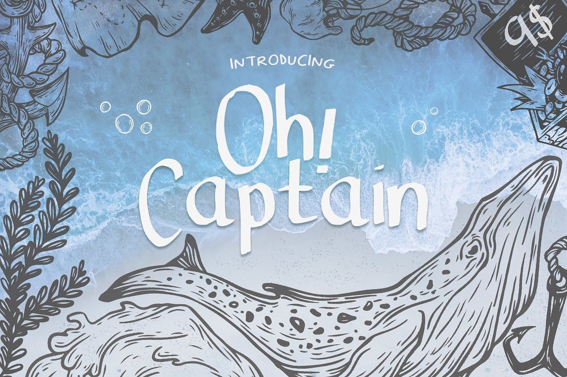 Oh! Captain Font example image 1