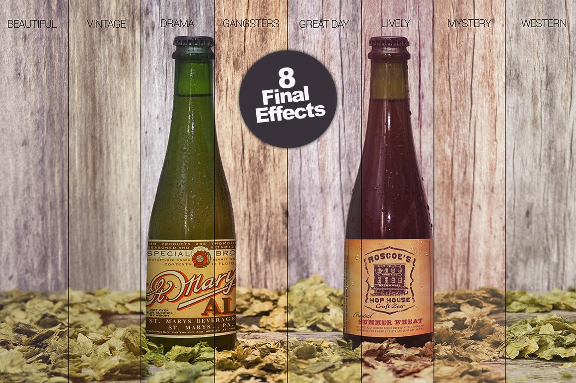 4 Bottles in 1 Mockup example image 4
