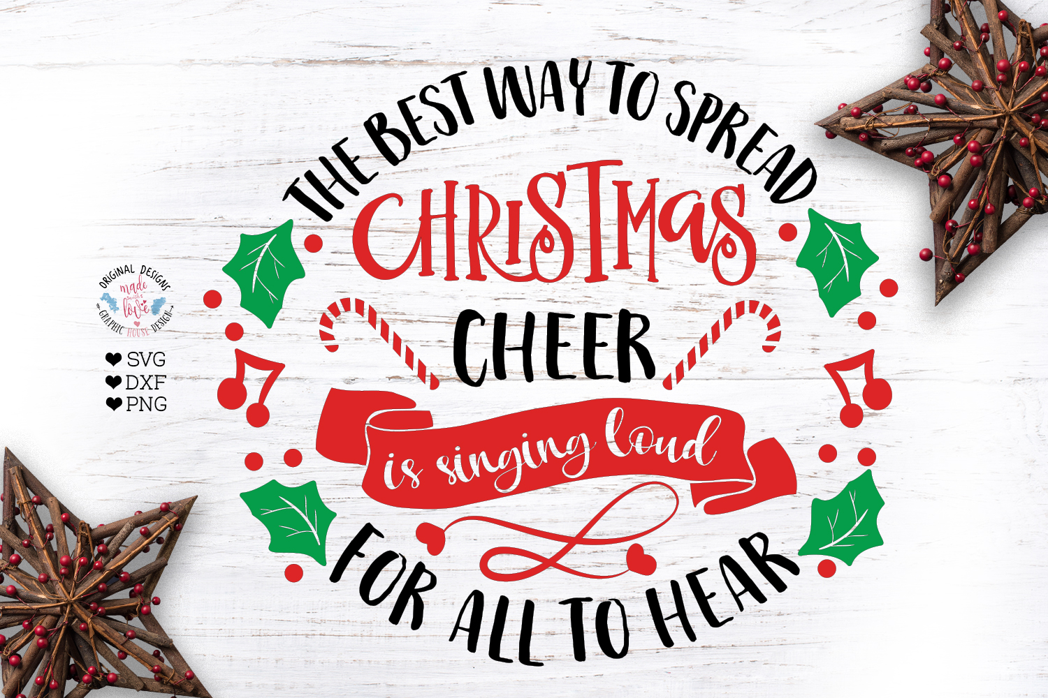 A Merry Christmas Cut Files Bundle example image 11
