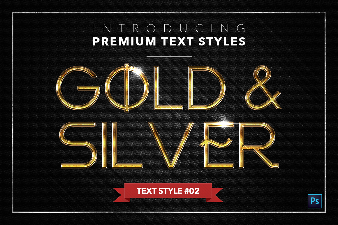 Gold & Silver #3 - 15 Text Styles example image 17