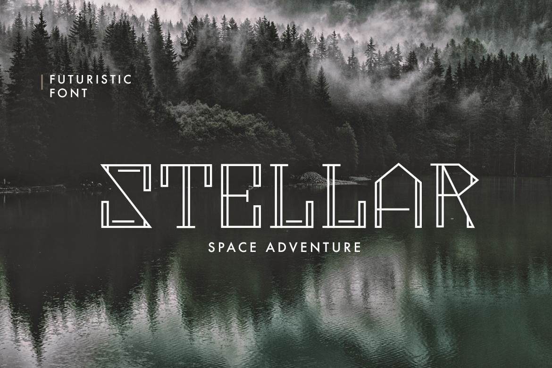 Metropolia - Futuristic font example image 3