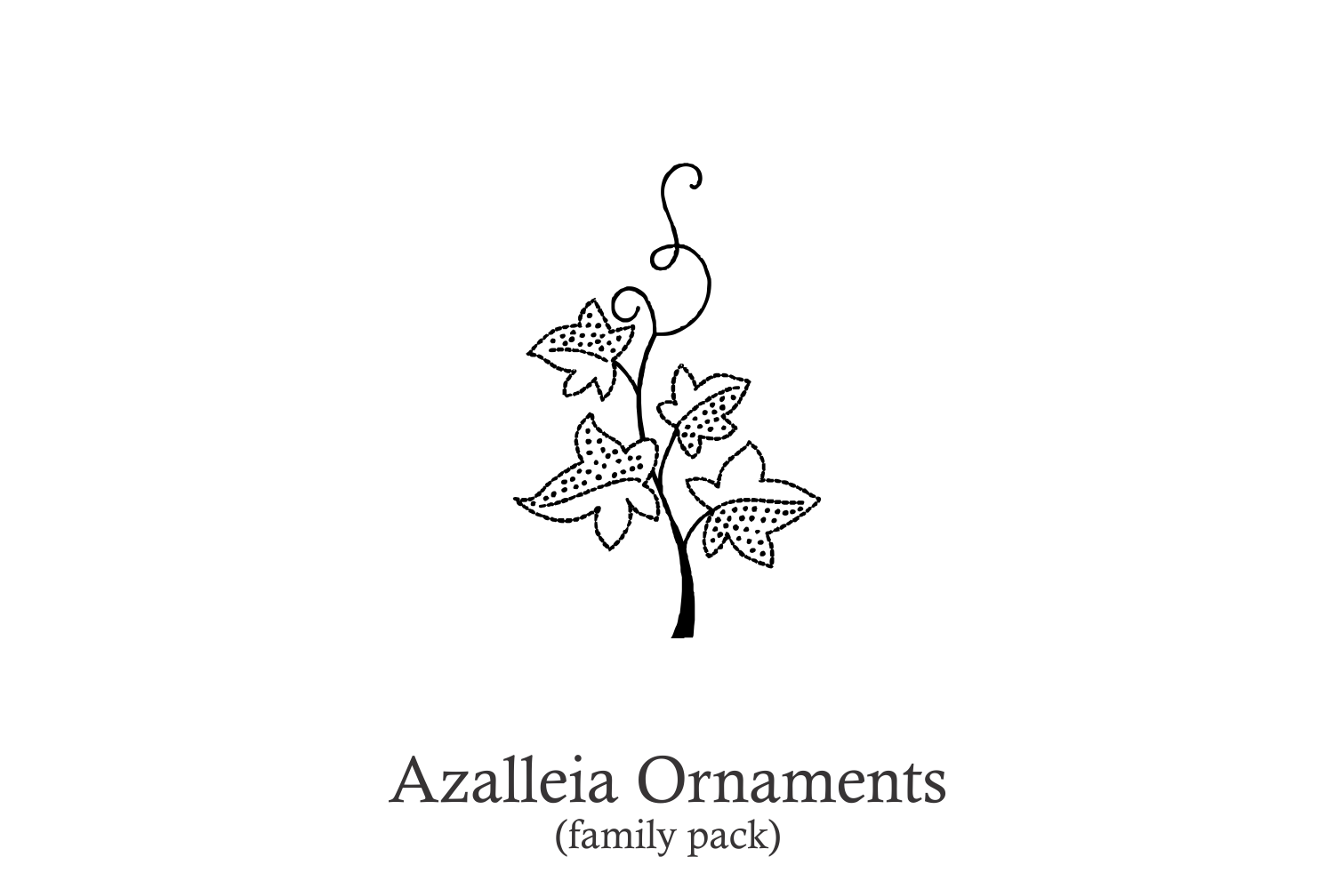 Azalleia Ornaments Family Pack example image 1