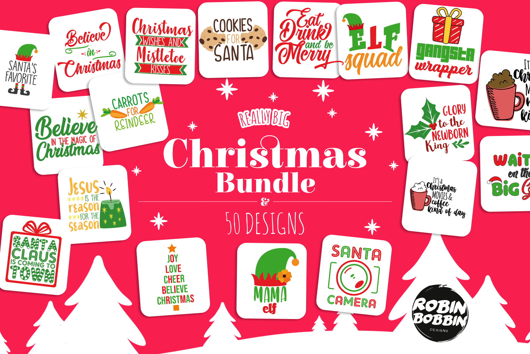 Mega SVG Bundle - Cut Files Bundle - Mega Bundle Over 700 example image 12