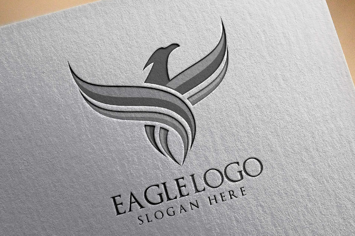 Eagle Fly Logo Template example image 4