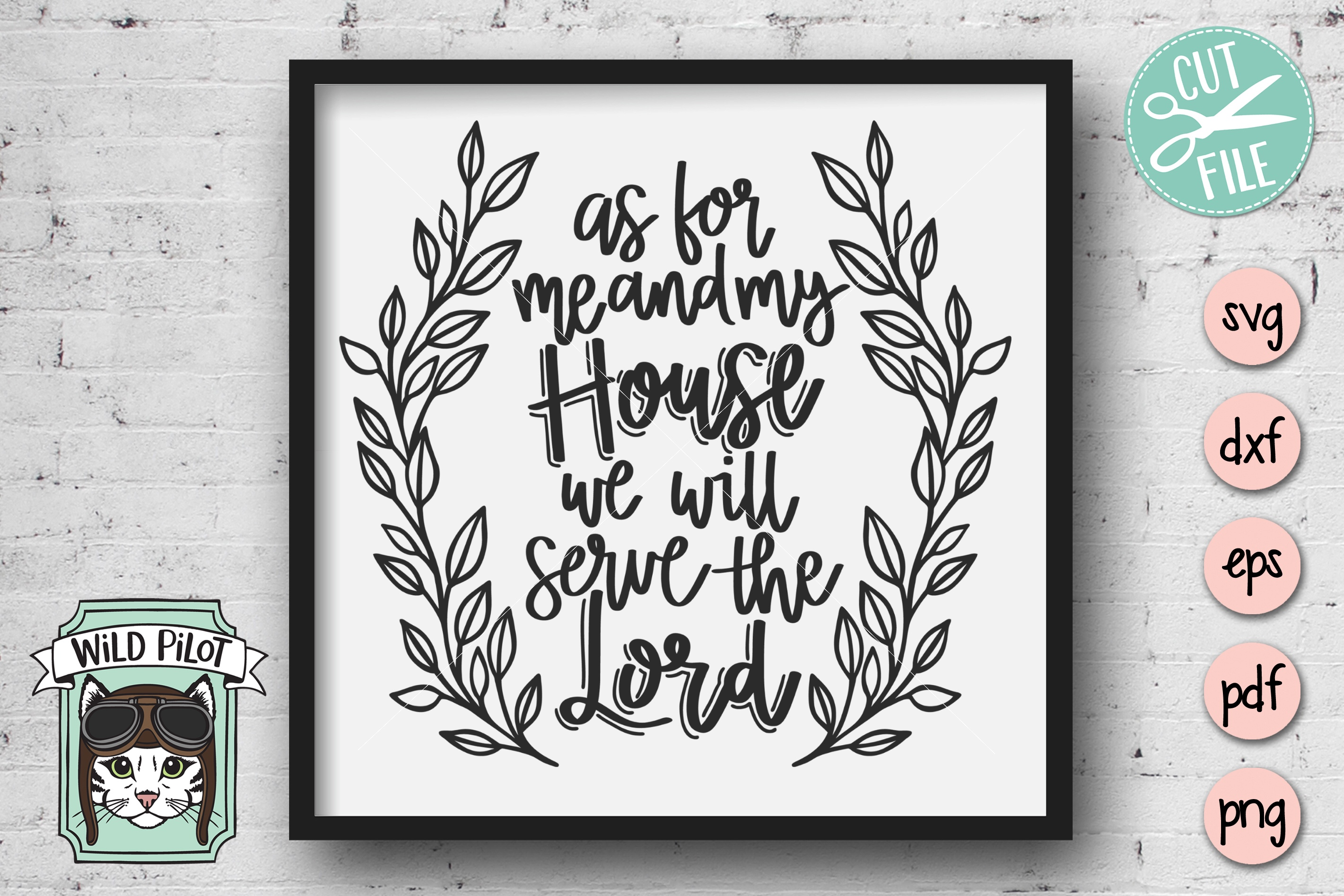 It Is Well With My Soul SVG file, Religious, Positive Quotes example image 2