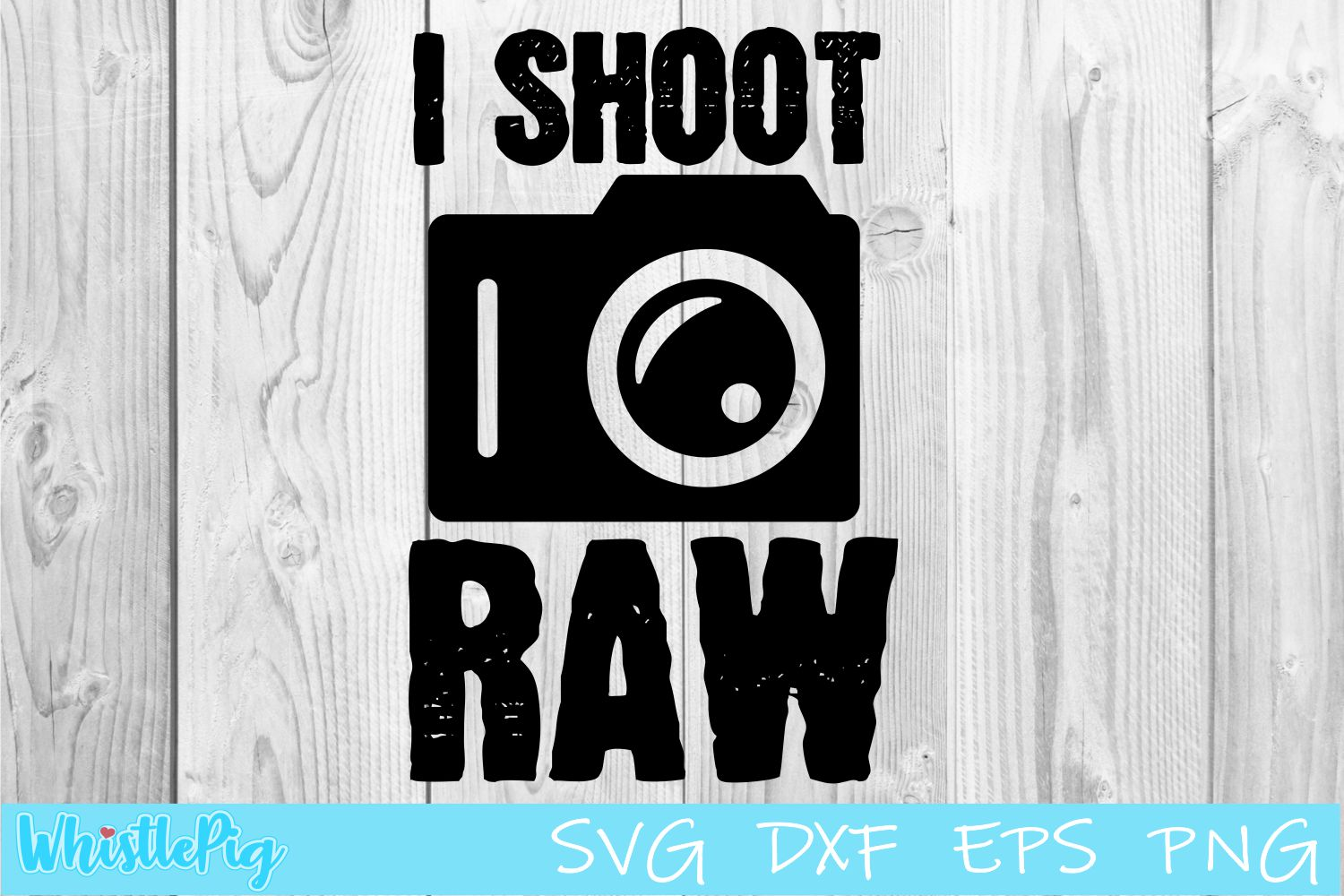 I Shoot Raw SVG DXF EPS Photography SVG Camera SVG example image 1