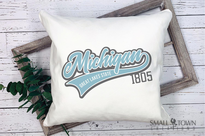 Michigan, Great Lake States - slogan, PRINT, CUT & DESIGN example image 3