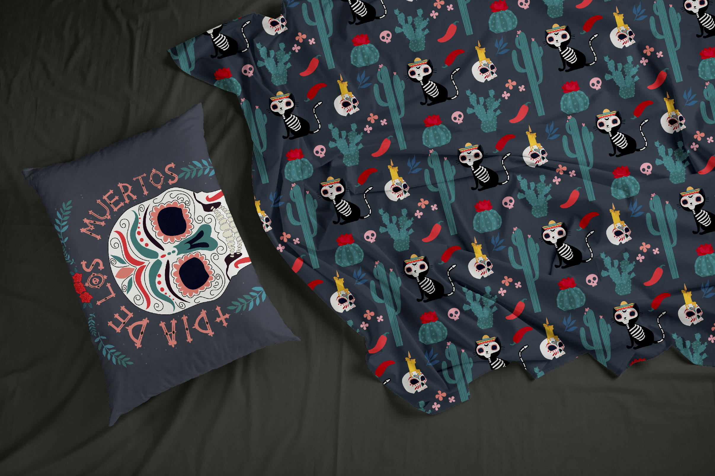 Day of the dead collection example image 9