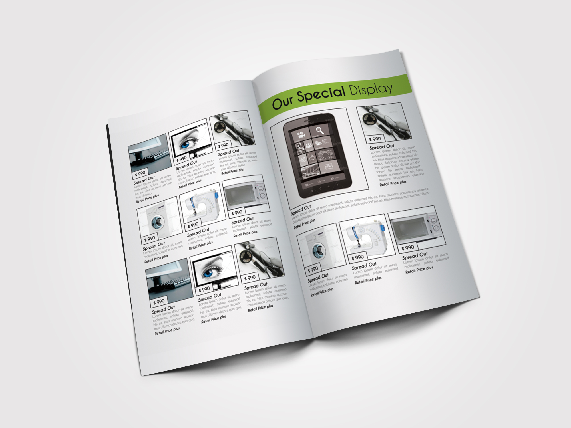 Business Innovation Product Bifold Brochure example image 3