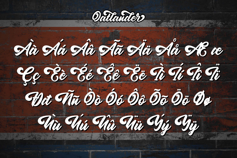 Oatlander - Authentic Bold Script example image 10