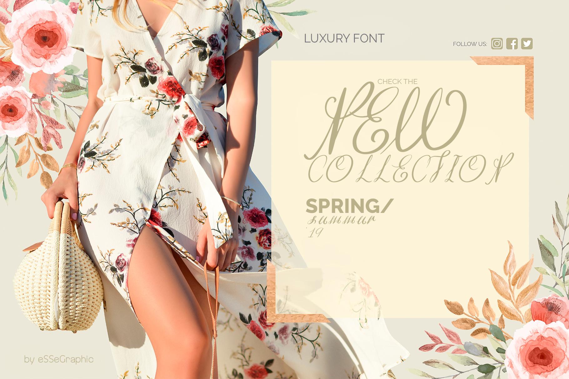 Efeymen Luxury Signature Font example image 6