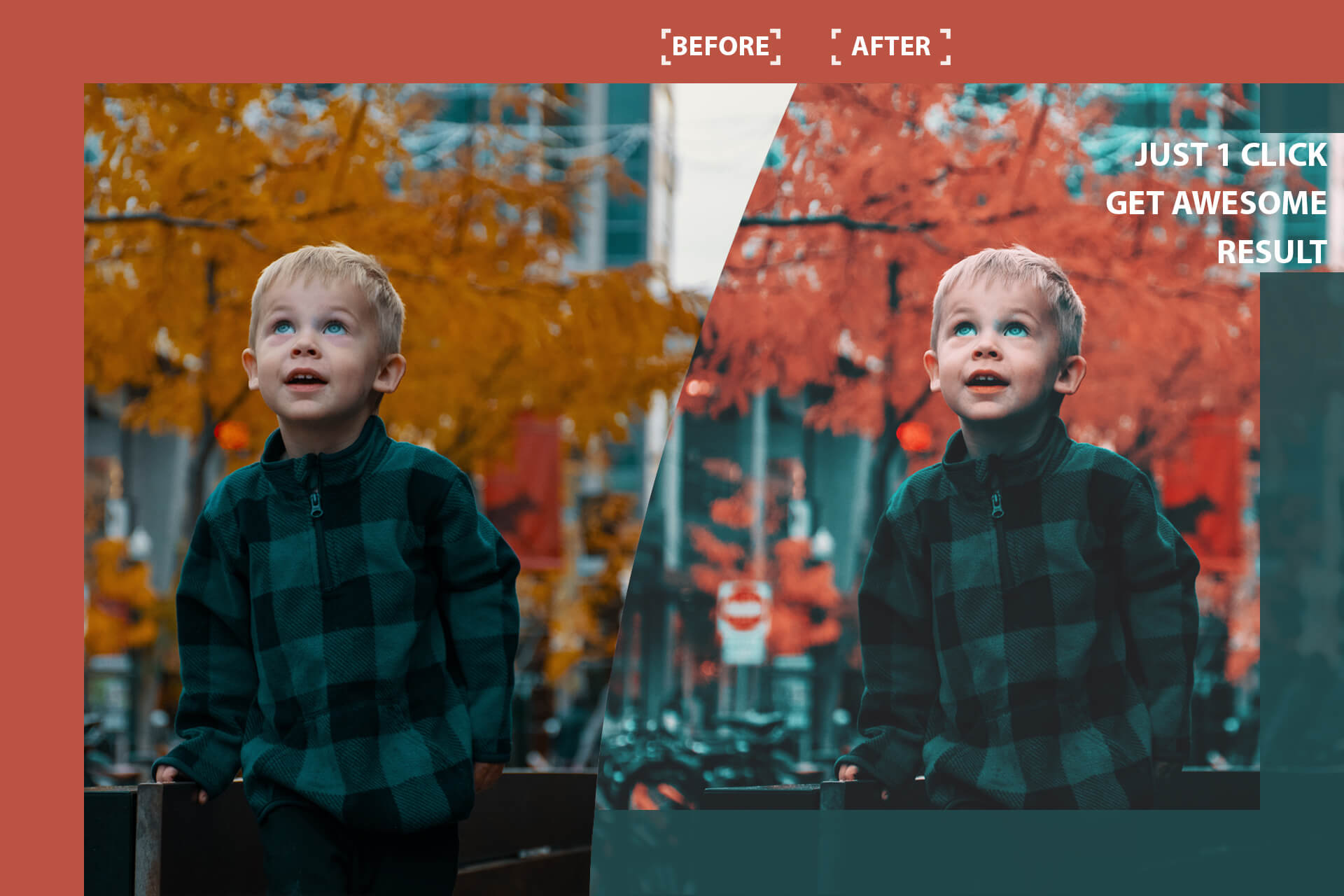 Cinematic color grading 05 Photoshop Actions example image 2