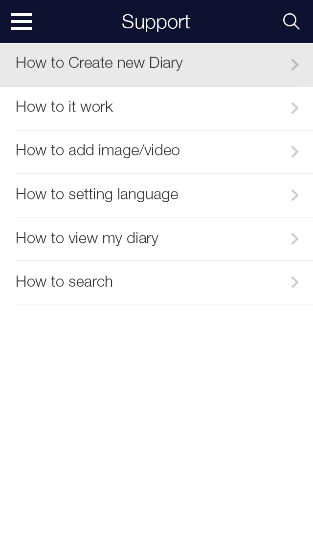 My Diary - UI Mobile Kit example image 20