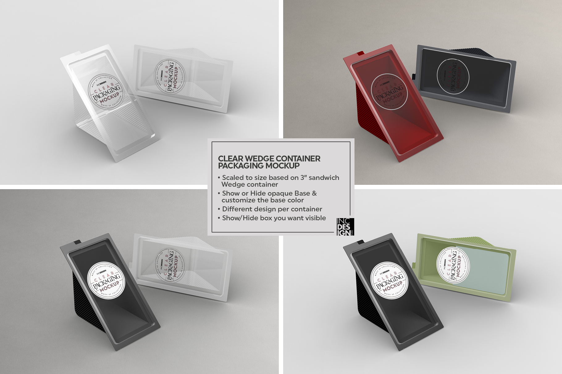 VOL.2 Clear Packaging Mockup Collection example image 21