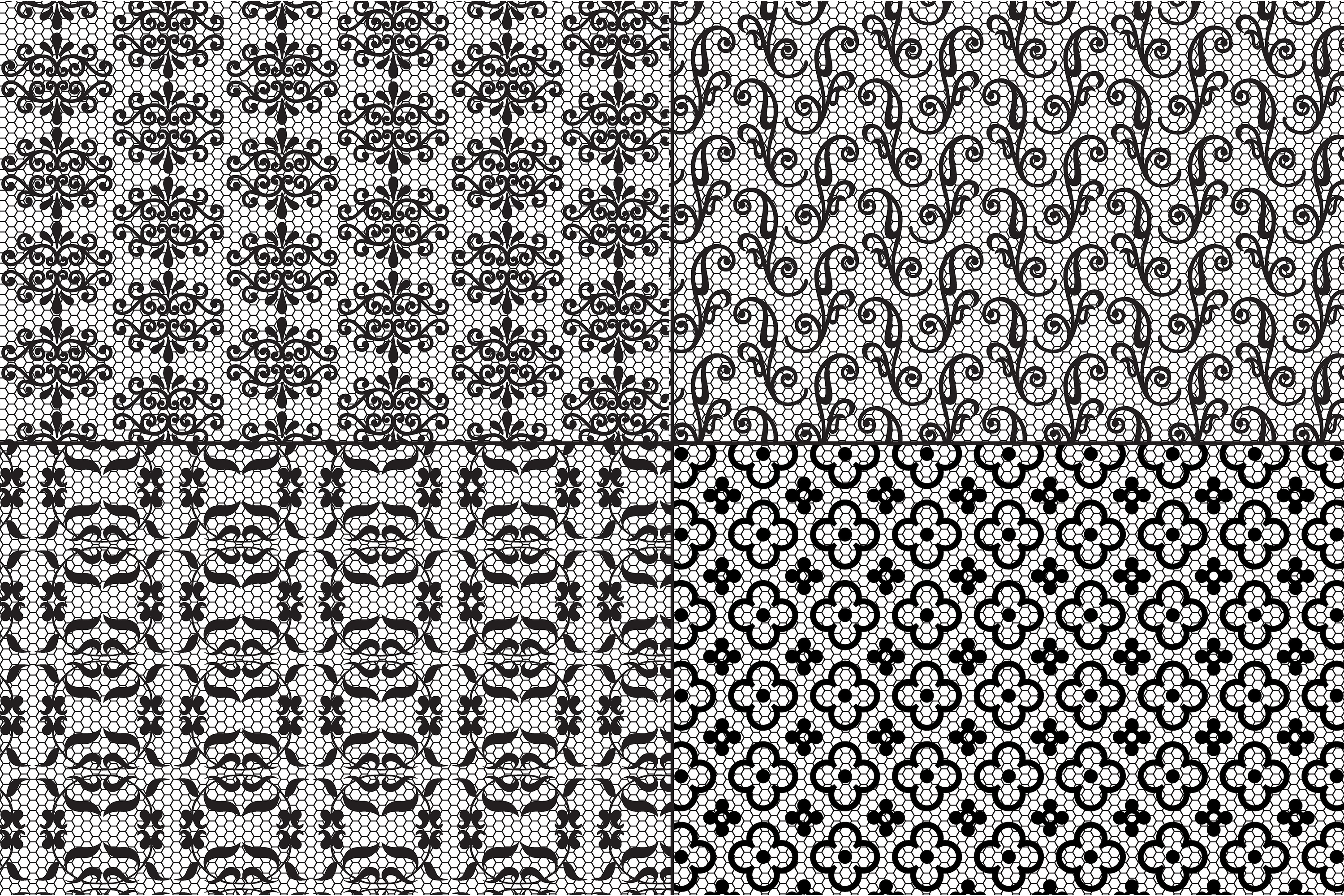 Black Lace Patterns example image 3