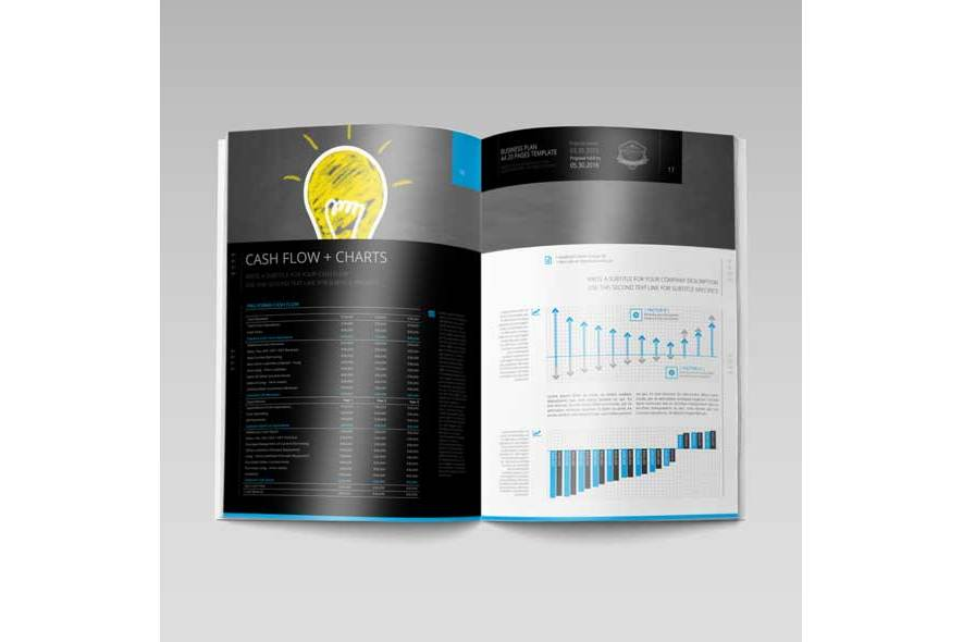 Business Plan A4 20 Pages Template example image 2