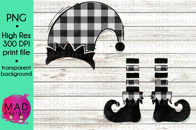 Christmas Elf - Bundle - Hat and Shoes Socks example image 6