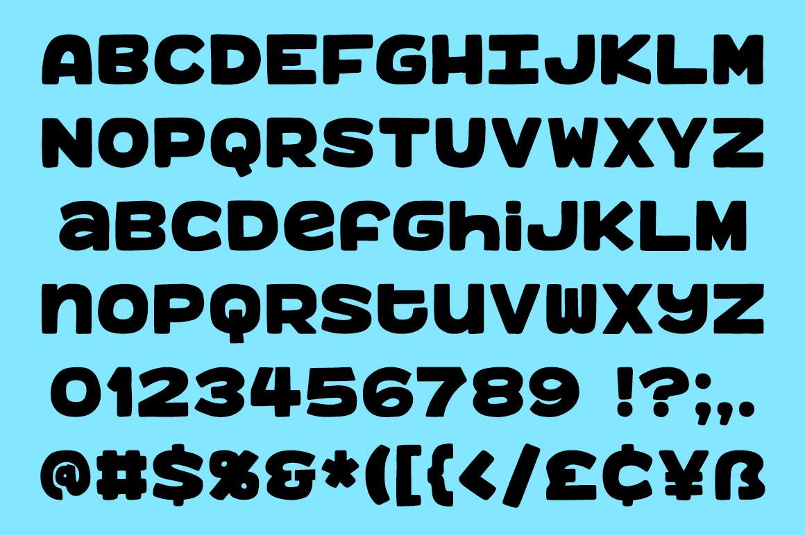 Benji - a bold, fun monospace font! example image 2