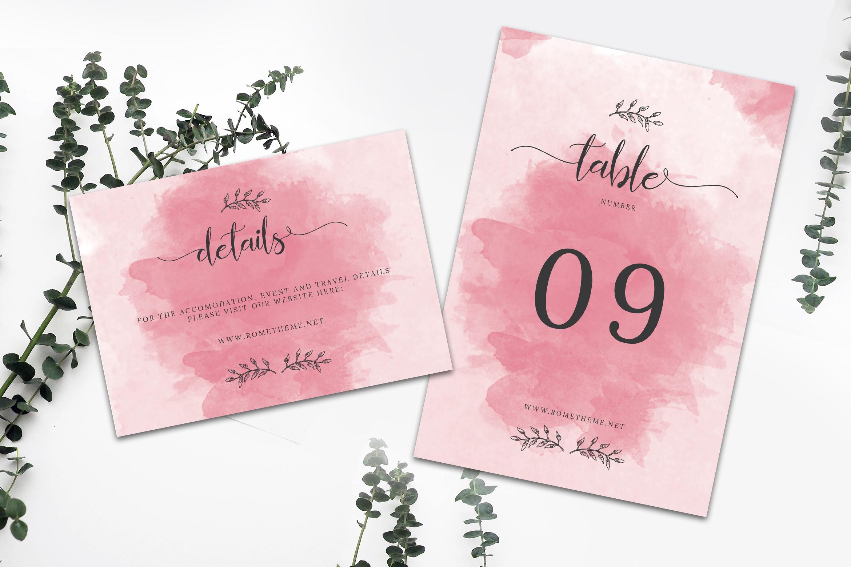 Wedding Invitation Suite vol. 01 example image 4