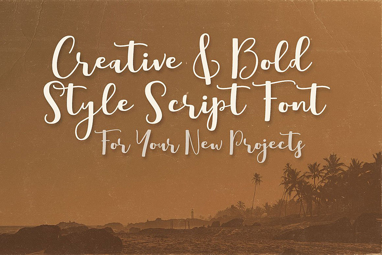 Boulevard Script Font example image 4