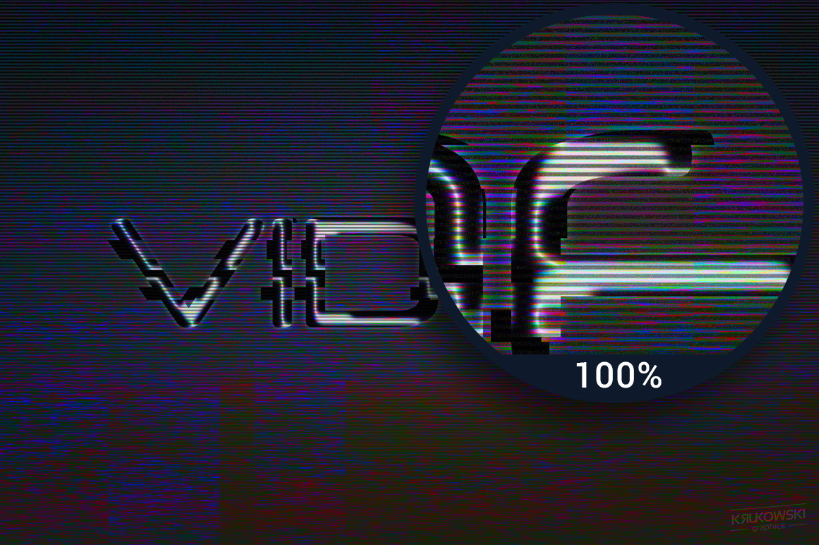 Digital Distortion Text Effects example image 4
