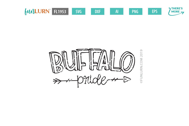 Buffalo Pride Team SVG Cut File example image 2